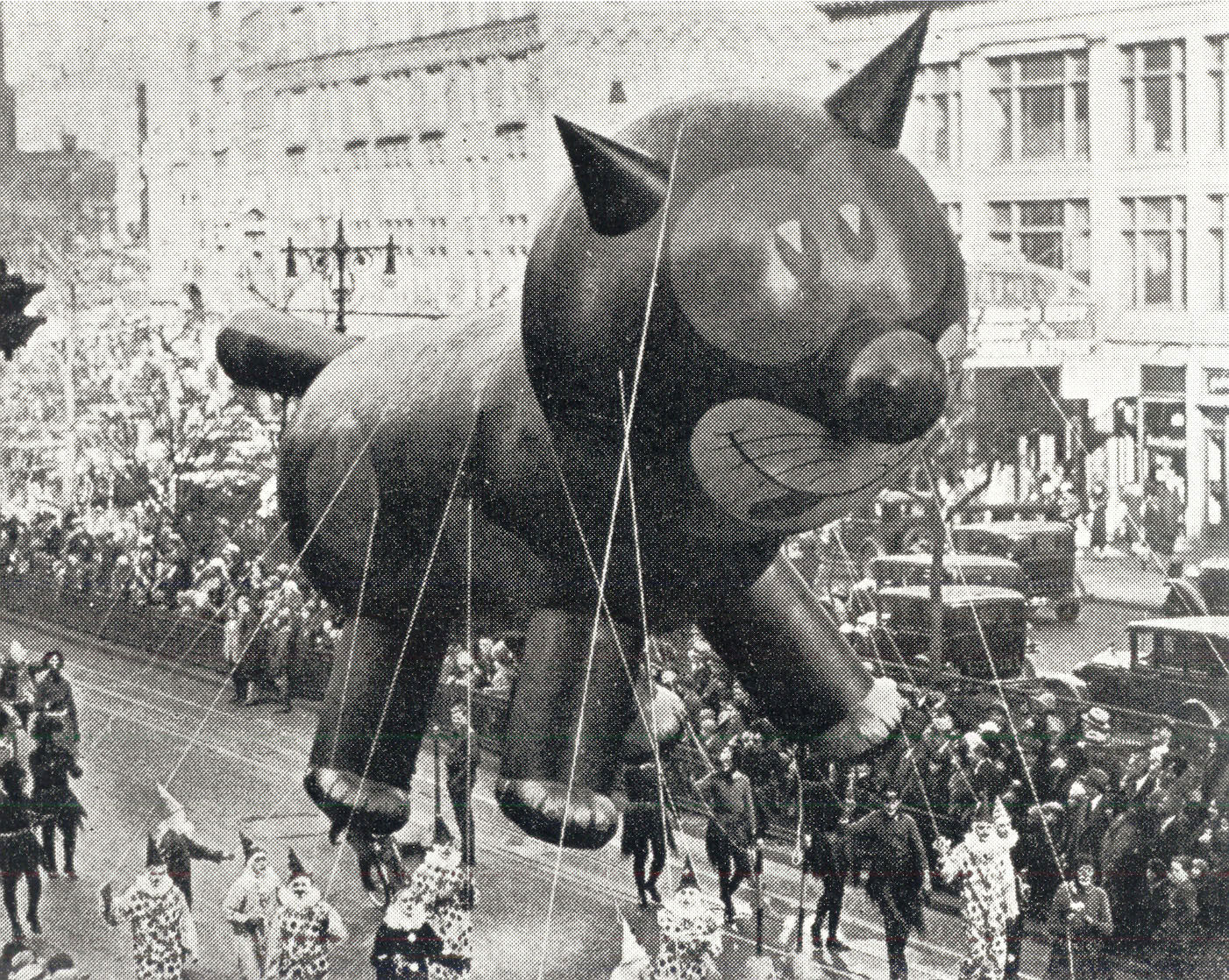 Felix the Cat - 1927 Parade Balloon