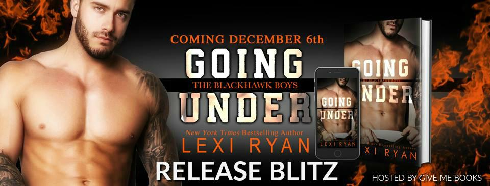 Going Under Release Blitz