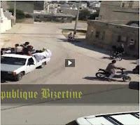 """بالفيديو: """"سلفيين"""" تونس يقتحمون المنازل بالأسلحة في اول ايام عيد الفطر ..."""