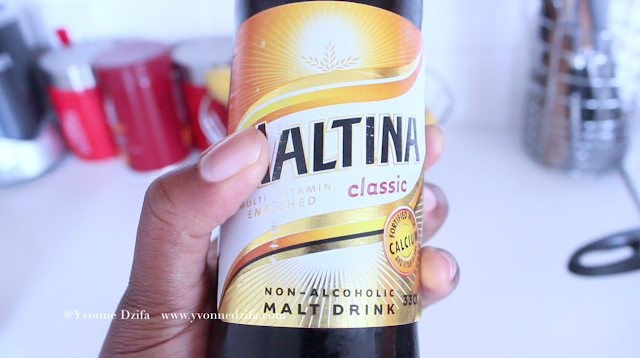 fortified non-non-alcoholic malt drink