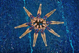 Synchronized Swimming Show