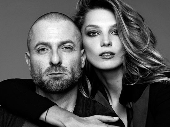 via fashioned by love | Alexander Vauthier & Daria Werbowy + Lancome