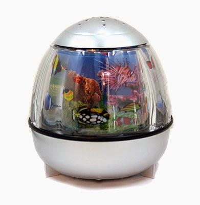 Светильник Аквариум 16x16 см (серебро) с разнообразными морскими рыбками для детской комнаты это создание атмосферы уюта и теплоты