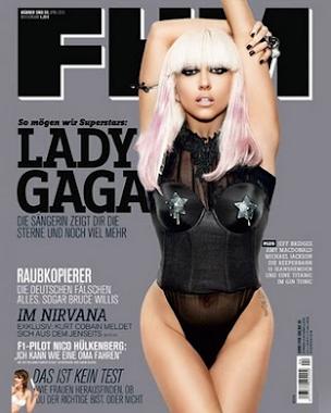 LADY GAGA FHM MAGAZINE COVER