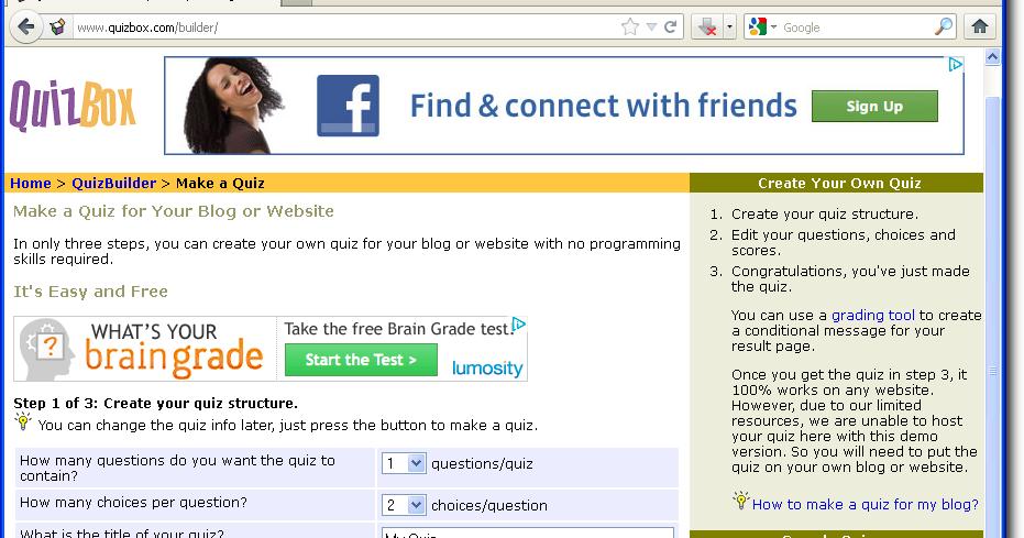 Cara Mudah Melengkapi Blog Dengan Kuis Pintar Belajar Tik