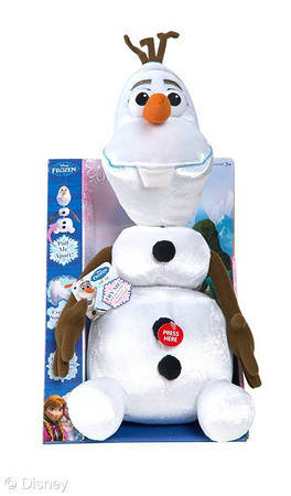 Disney Frozen Pull Apart and Talkin' Olaf Toy Plush