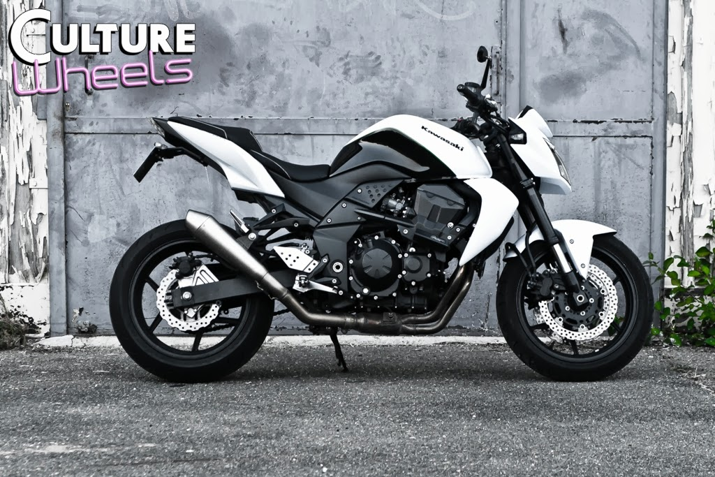 Kawazaki z750Kawazaki z750 blanche 2008 occasion moto 92 Hauts-de ...