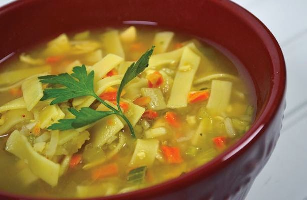 recipe for chicken noodle soup in a jar