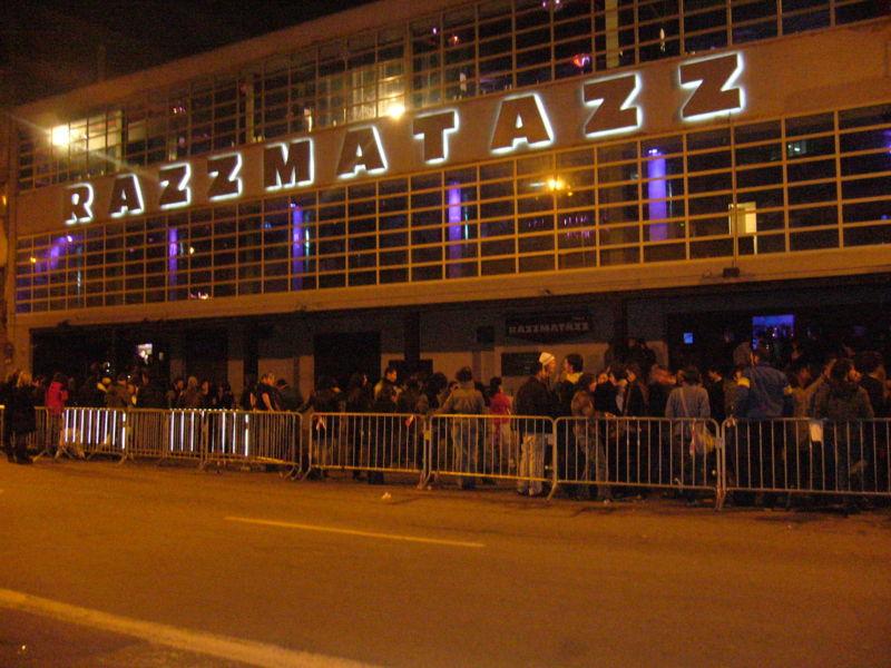 Razzmatazz nightclub in barcelona for Night club barcelona