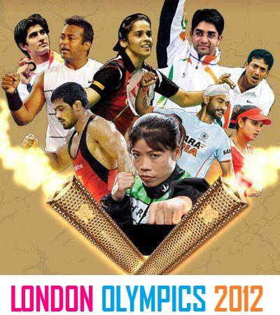 India at the 2012 London Olympics