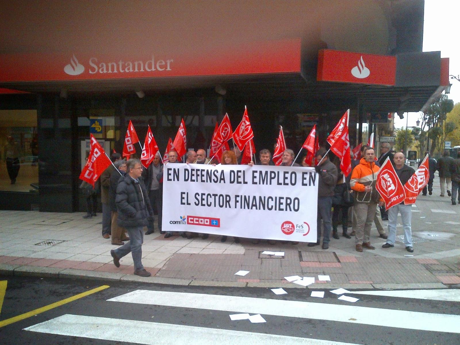 Fesasturiasugt 188 trabajadores de la inmobiliaria for Inmobiliaria del banco santander