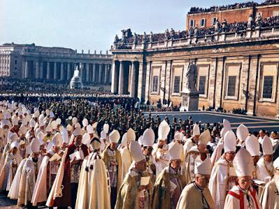 Início do Concílio Vaticano II