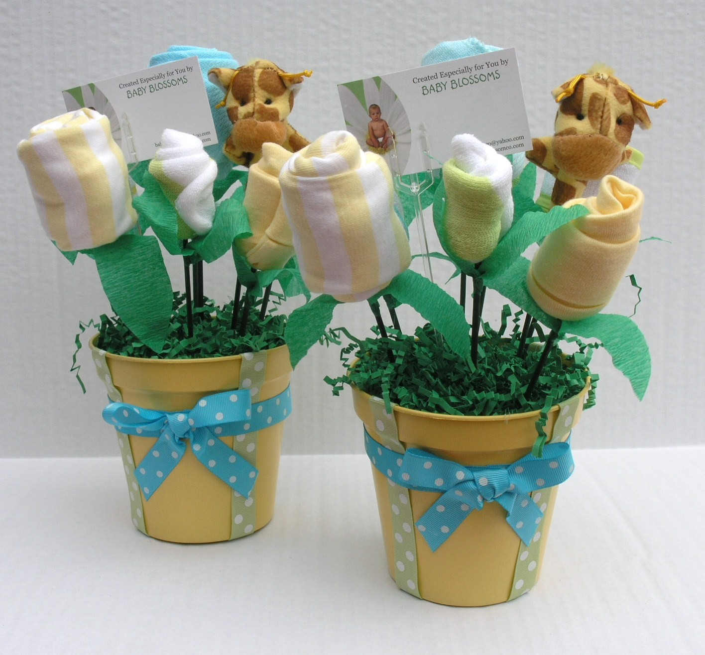 CENTRO DE MESA BABY SHOWER - YouTube