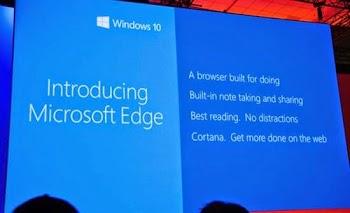 Microsoft Edge το όνομα του «διαδόχου» του Explorer