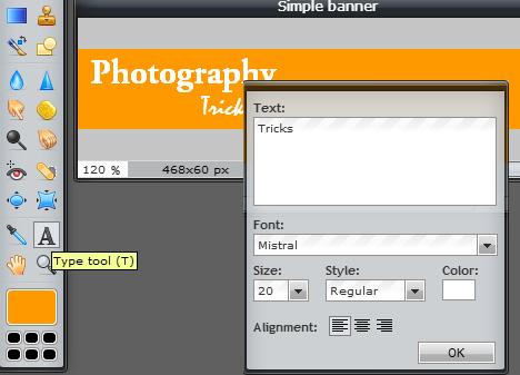 make banner pixlr online
