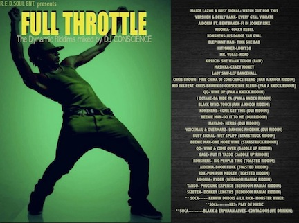 FULL THROTTLE VOL 1 (DANCEHALL) BY DJ CONSCIENCE