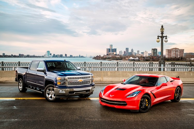The Award Winning 2014 Chevrolet Silverado & Chevrolet Corvette Stingray.