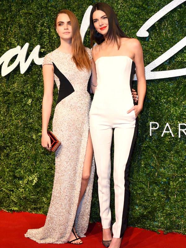 Best Dressed ladies at British Fashion Awards 2014