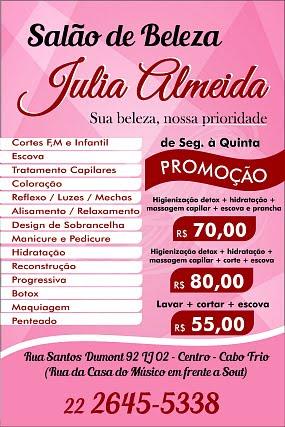 Salão de Beleza Júlia Almeida