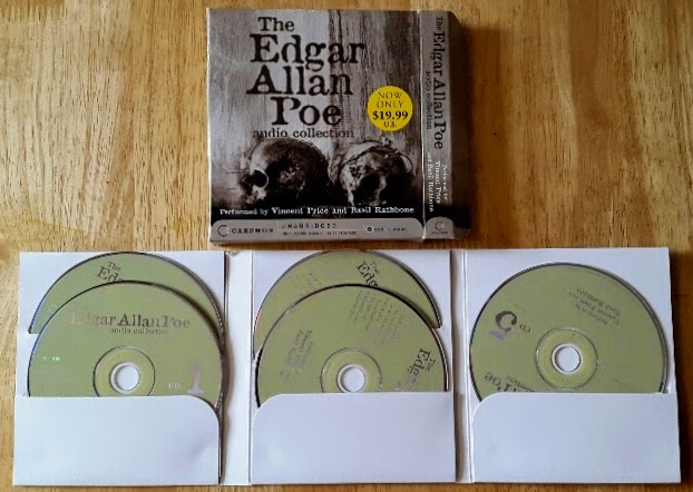 Whoopidooings: Book Review: The Edgar Allan Poe Audio Collection read by Basil Rathbone & Vincent Price