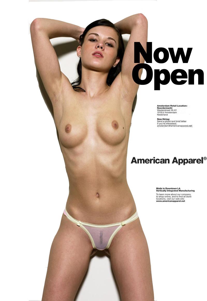 Apparel nude american