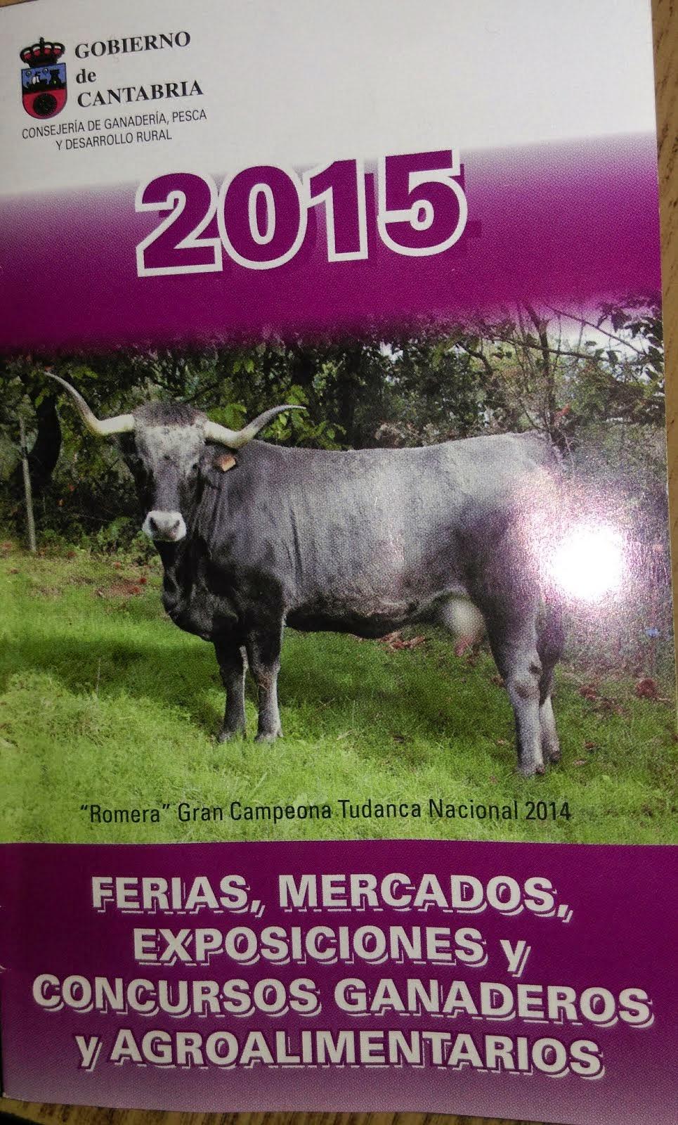 CALENDARIO DE FERIAS 2015