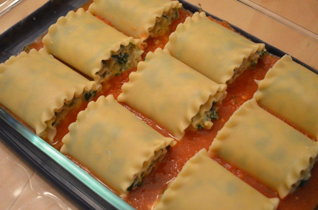 rouleaux de lasagne 224 la saucisse et aux 233 pinards chroniques gourmandes