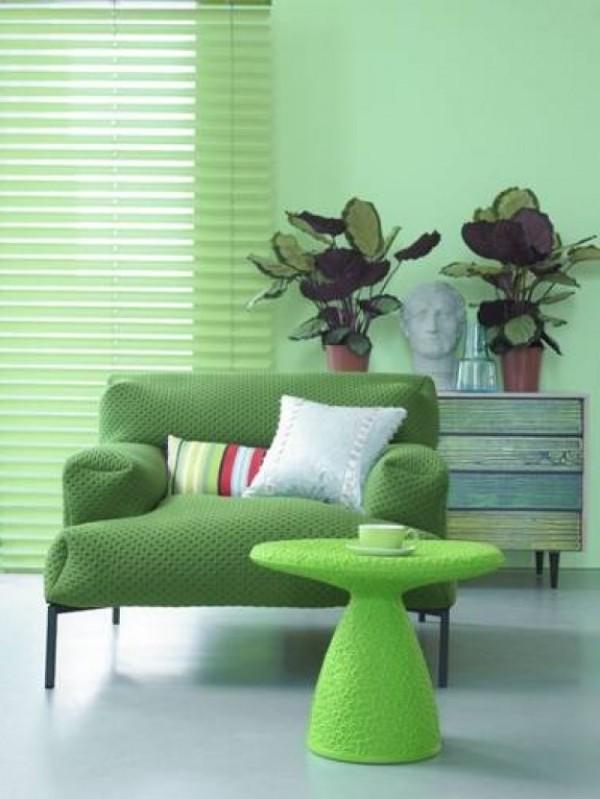 Decoraci n en verde para nuestro hogar estudio lota for Decoracion hogar verde