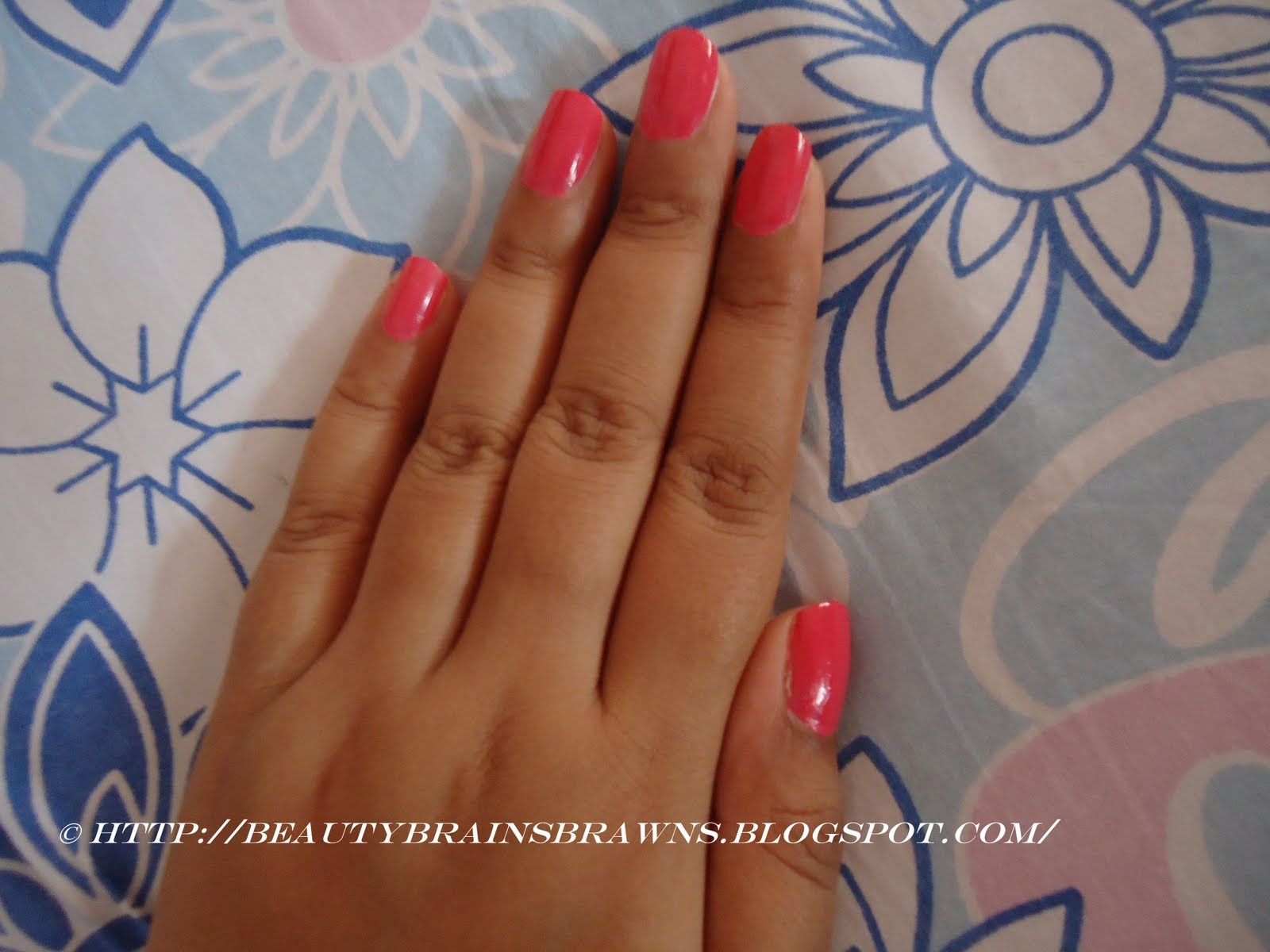 Elle 18 Nail Pops - Shade 47 Review and my first NOTD for blog ...