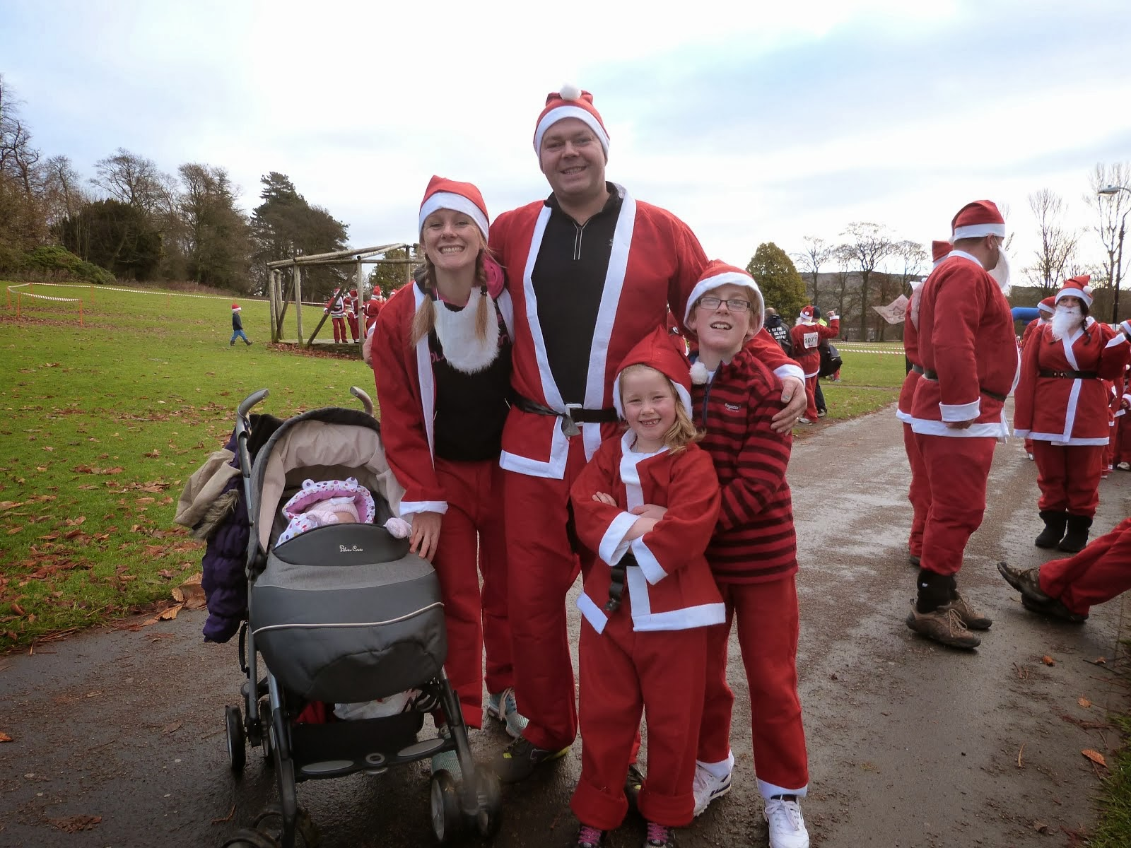 Running Santa's!