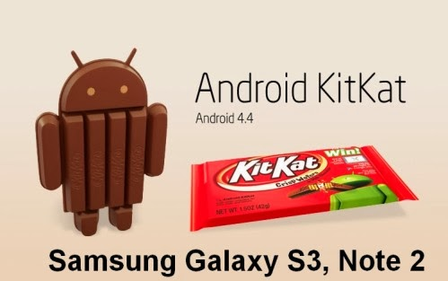 Secondo una fonte interna a Samsung il Galaxy S3 e il Note 2 saranno aggiornati a KitKat dalla fine di Marzo 2014