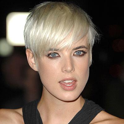 Agyness Deyn Hairstyle