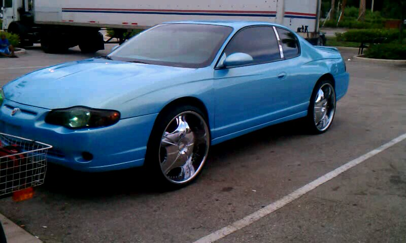 2011 Impala On 24s >> PHOTOGRAPHY BY MIAMIEARL: Monte Carlo on 24's Outrageous Paint
