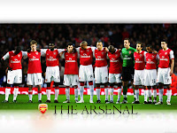 Arsenal wallpaper team