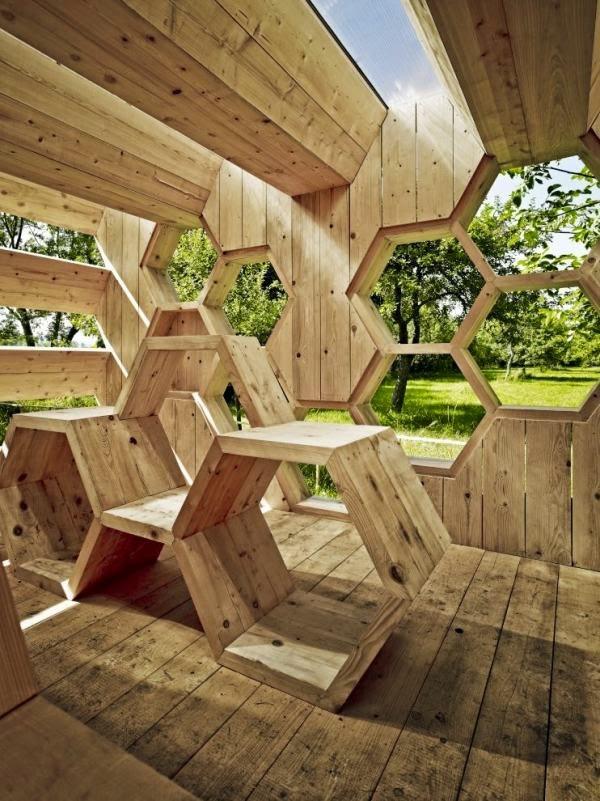 honeycomb hotel design