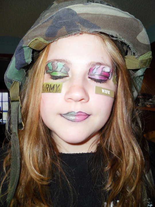 Army Camouflage Makeup Imgkid