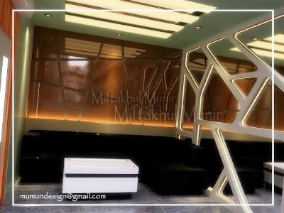 desain interior rumah: desain ruang karaoke minimalis modern