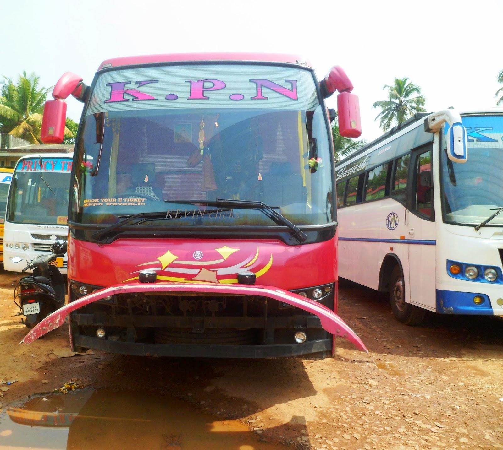 Kpn Travels Volvo Bus Kpn Travels Volvo B9r Sleeper