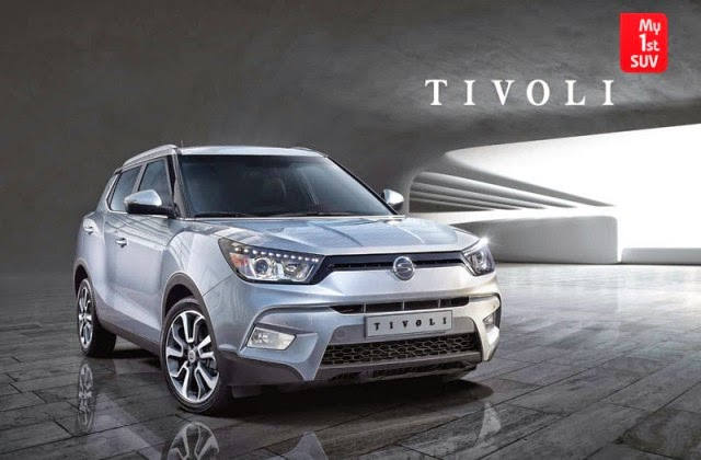 Ssangyong Tivoli ready to compete in the market