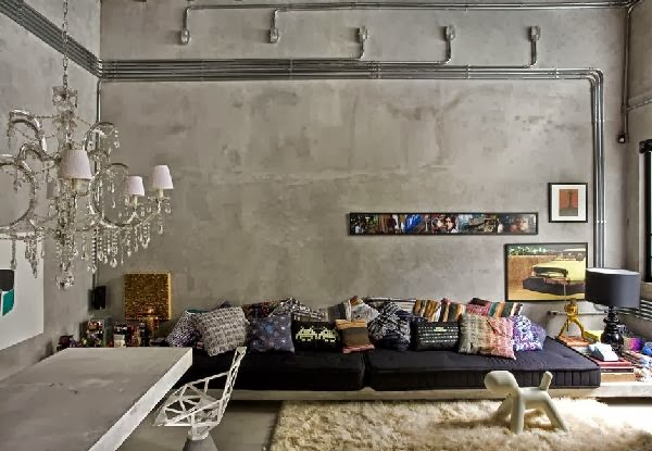 10 fantastic low level livng rooms the grey home for Low level sofa bed