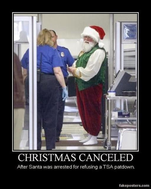 Santa Claus TSA