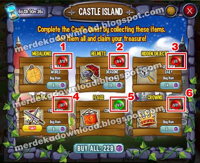 Cheat Castle Island Dragon CIty