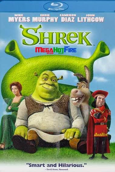 Shrek 2001 BRRip 480p Hindi Dubbed Dual Audio 300MB