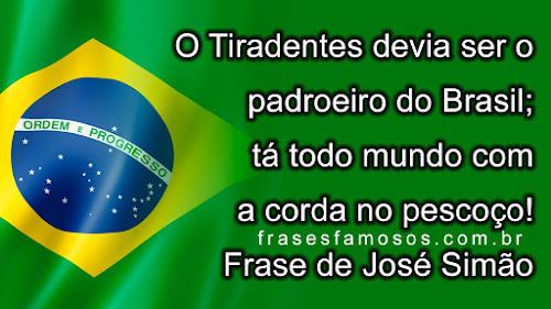 Frase de José Simão
