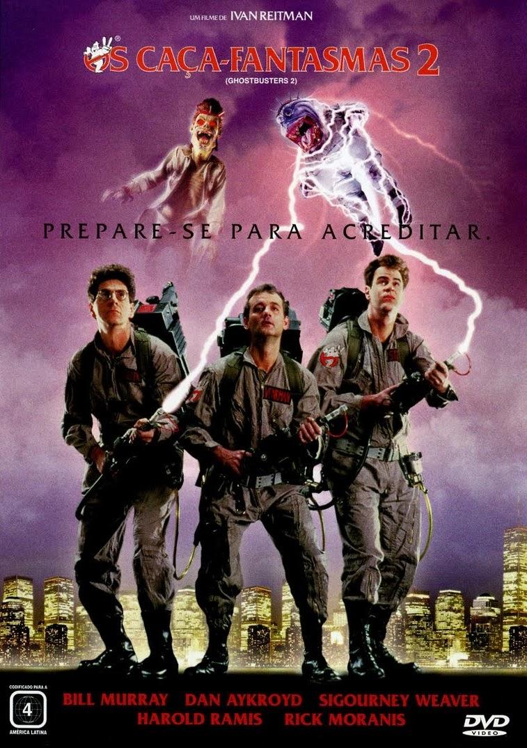 Os Caça-Fantasmas 2 – Dublado (1989)