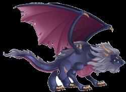 imagen del dragon aullido