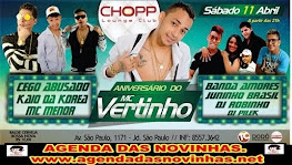 CHOPP LOUNGE CLUB - ANIVERSÁRIO DO MC VERTINHO.