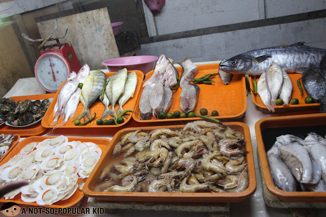 The Seafood Collection of Original Nena's Manokan