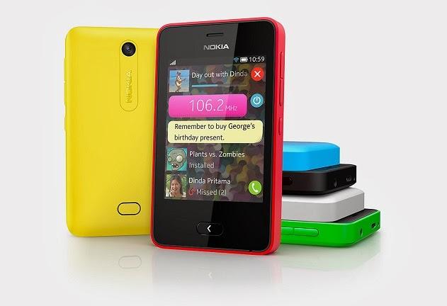 para a versão mais recente que vem nos recém-anunciados Nokia Asha