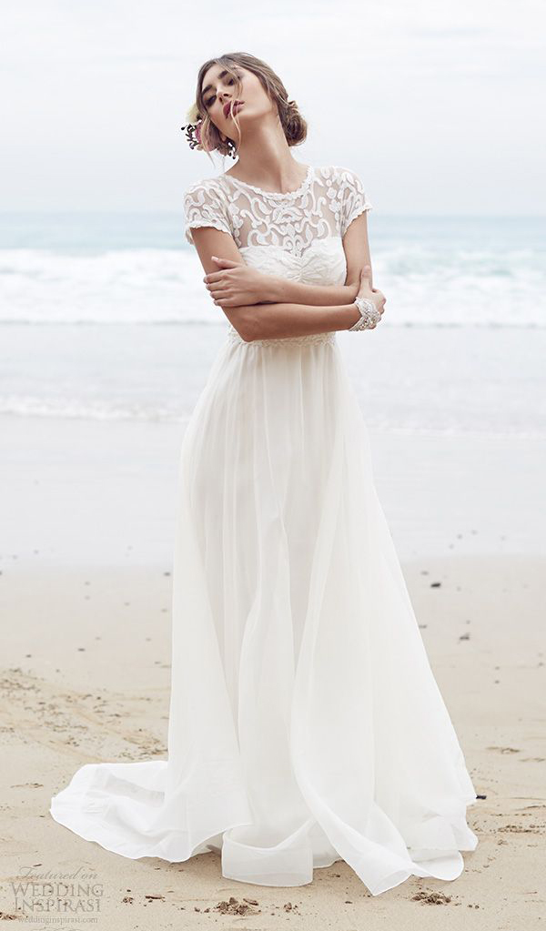 beach wedding dresses beauty